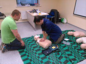 Elustamine ja AED kasutamine